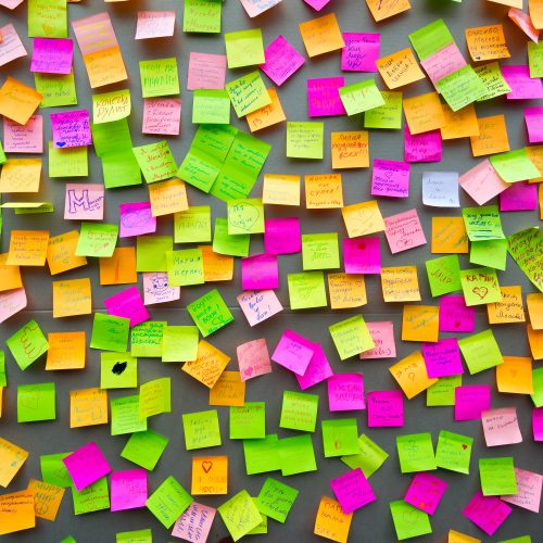 Sticky Note Branding Workshop