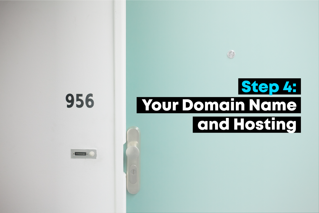 Choosing Your Domain Name & Hosting